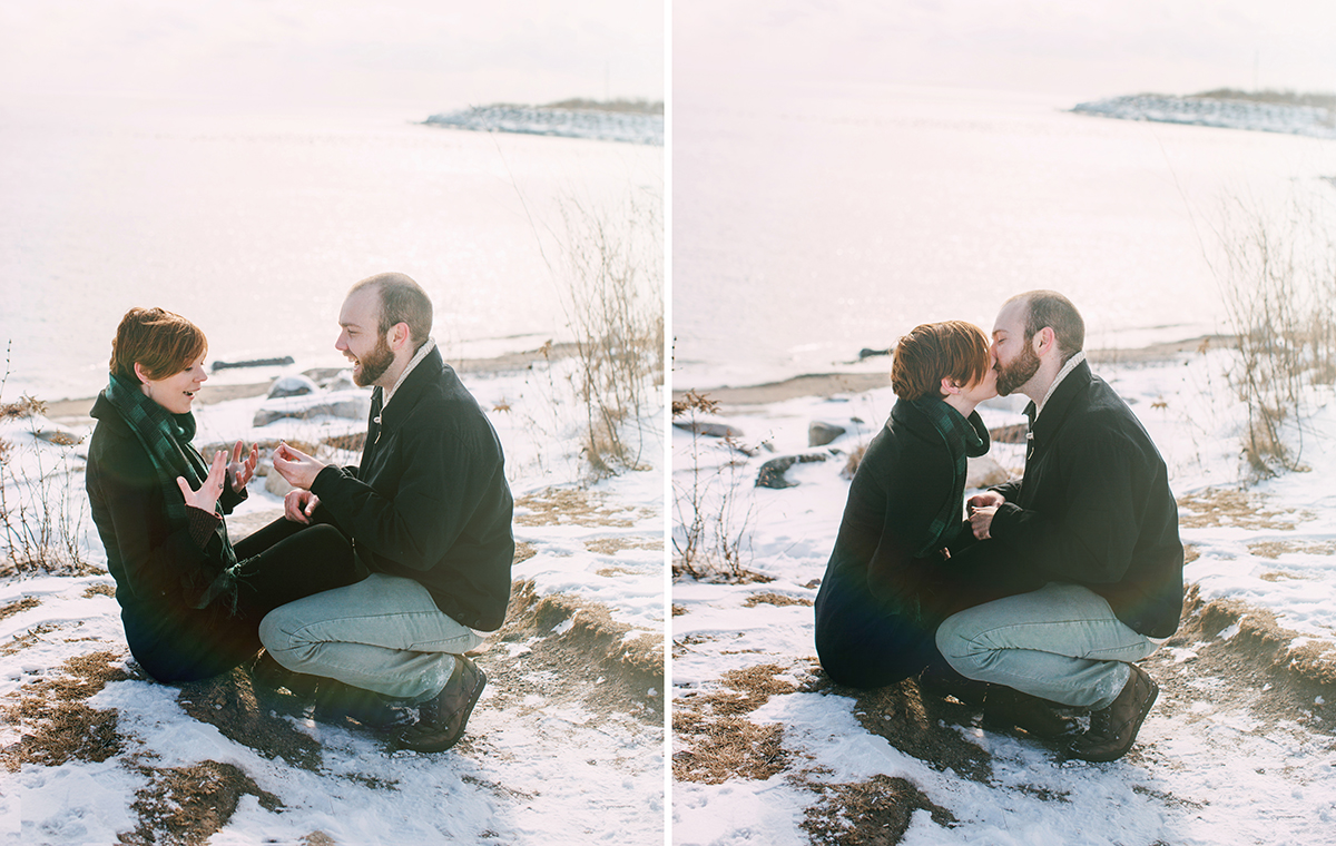 Toronto Fine Art Engagement Photography